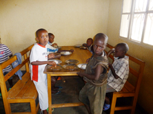 orphans at Centre Marembo, Ruanda