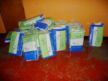 toiletries in Ruanda